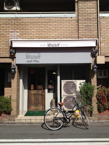 麩屋町六角を下ったところにあるパン屋さん「ワルダー」