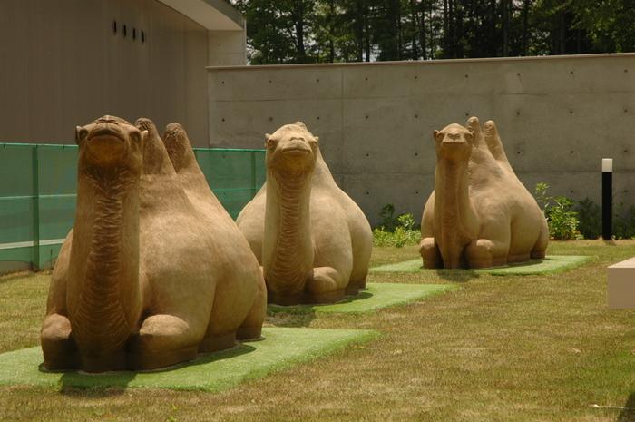 平山郁夫美術館。日本画家の「巨匠」が残した作品の数々に心魅かれます。