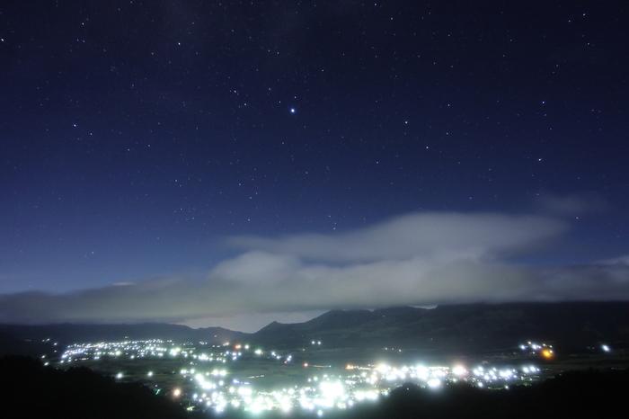 星空も美しい南阿蘇。せっかくなら、天文台に行ってみては?