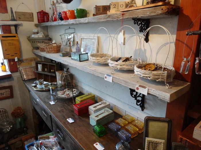 フランス雑貨も販売しているカフェレストランガレット。
