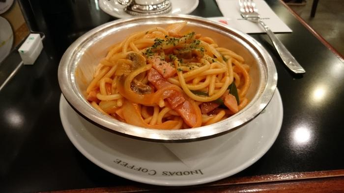 """イノダコーヒ風ナポリタン、""""イタリアン""""。 どこか懐かしさを覚えるイタリアンは、喫茶店の醍醐味。"""