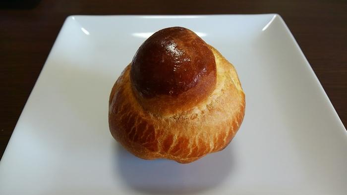 ブリオッシュはふわりと小麦の甘さが香る一品。