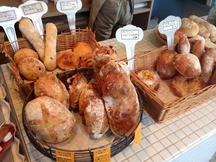 ハード系のパンも美味!香ばしい香りが伝わってくるよう!