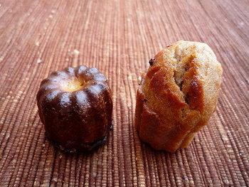 オーナーのダヴィッドさんは甘いものが大好きなんだとか。だからこそスイーツ系のパンも美味しく作れるんです。カヌレやフィナンシェなども人気があります。