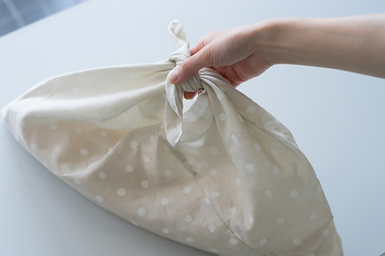 サイズを変えれば、ポーチやバッグとしても使えますよ。