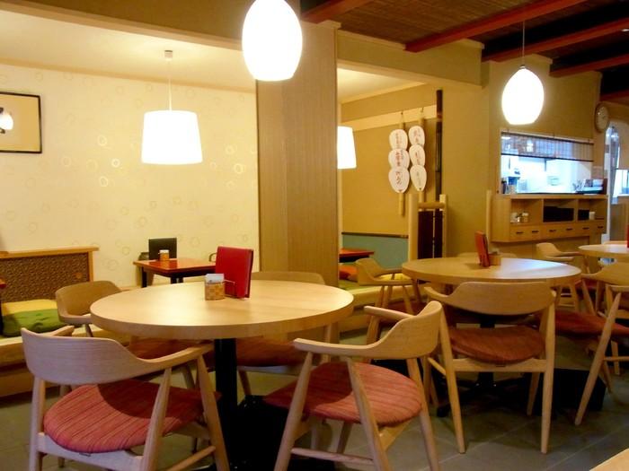 こちらは祇園店の店内。テーブル席もいいですが、趣のあるお座敷席でいただくとより美味しさが増しそうです。