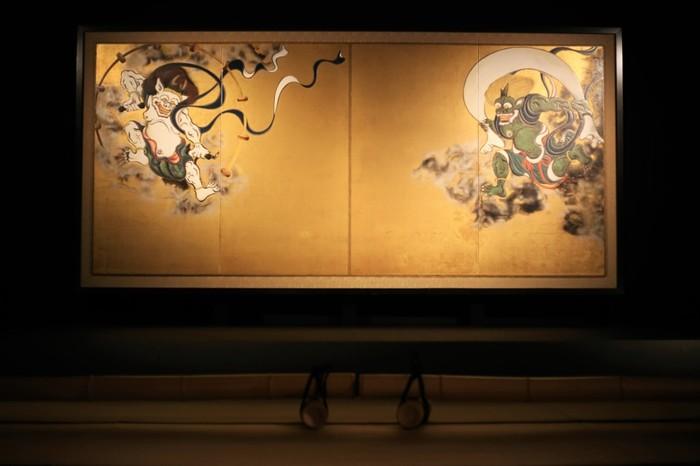 国宝「風神雷神図」を有していることでも有名です。その他にも貴重な文化財が多いので、どれひとつとっても一見の価値があります。