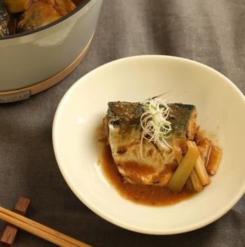 お魚もふっくら。味がしみて美味しそう!
