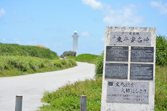 岬一帯の植物は県の天然記念物に指定されています。