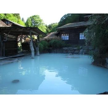 国有林の中にあり、とても雰囲気のある温泉。2代目秋田藩主の佐竹義隆が訪れたことでも有名です。