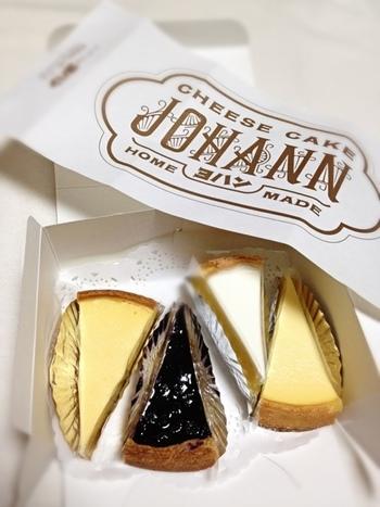 紀元前3,000年から食べられていたと言われているチーズケーキ。ヨハンではそんなチーズケーキのルーツを探り、伝統の味を守り続けているのだそうです。