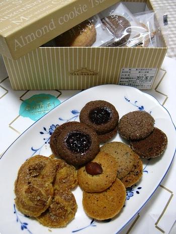 クッキー、パイ菓子などたくさんの種類がある焼き菓子。個包装されているので1枚からも購入できますが、ぜひ詰め合わせを購入して、いろいろな味を楽しんでみて。