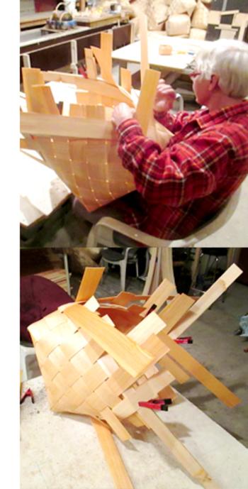 こちらのかごは一つ一つフィンランドの職人さんが手編みをしているこだわりの一品です。