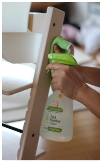 なんでも口に入れてしまう時期の赤ちゃんがいても、このクリーナーで磨いておけば、もう大丈夫!