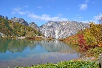 そこから八方池までが、定番のトレッキングコースなんだそうです。北アルプスの山々を間近に見てみたいですね。
