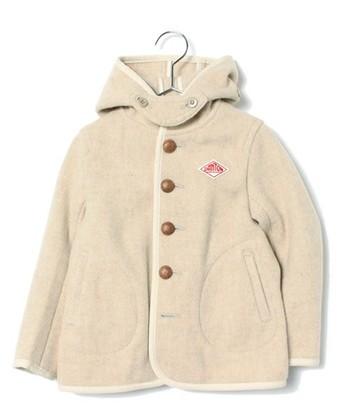 実はダントンのコートには、大人用と同じデザインのキッズバージョンもあるのです♪