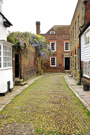 アメリカ人作家ヘンリー・ジェイムスが住んでいた家など、映画・作家ファンに人気の場所もあります。