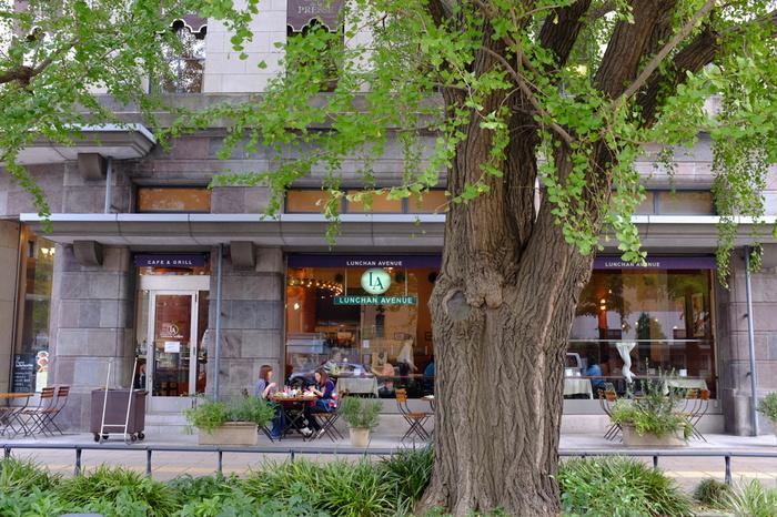 また、この周辺はオシャレなカフェやレストランが多く、人気のエリアです。