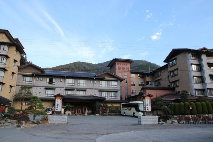 こちらは「昼神温泉 湯元ホテル 阿智川」。 他にも様々な温泉旅館がありますので、自分に合った旅館を探してみてくださいね。