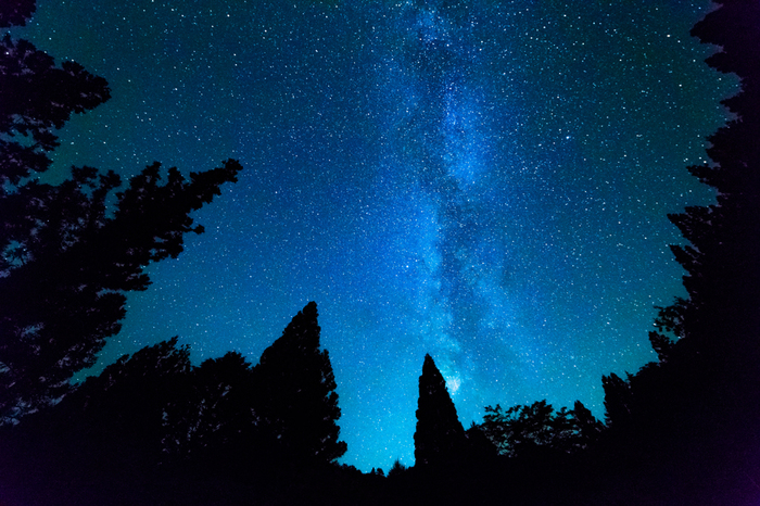 ある時間になると・・・光が一斉に消されます。 毎週水曜には星空のもとで音楽ライブを楽しむこともできますよ。