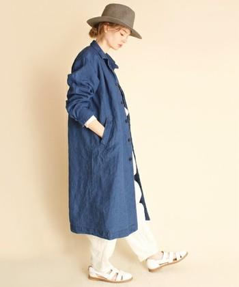 いかがでしたか?デニムコートを一枚羽織るだけで、スタイリッシュでこなれ感のある着こなしになりますね。春ファッションのワードローブの一つとしてぜひ取り入れてみてはいかがでしょうか?