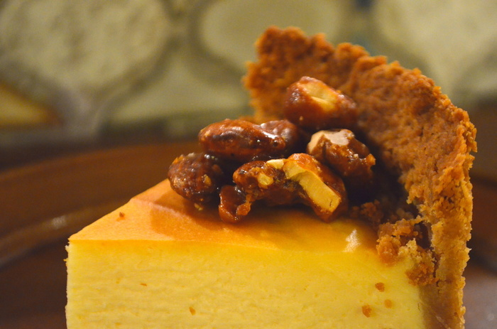 『Tokiona』にはもう一つ、『甘いもの好きが集まる場所』という意味もあるのだとか。人気No.1はキャラメリゼしたナッツが美味しい濃厚チーズケーキです♪