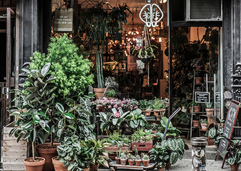 ニューヨークの店舗もハイセンスな空間。個展も開催し、流行に敏感なニューヨーカーたちにも人気です。