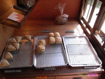 正午過ぎにはこちらのようにパンがなくなってしまうそうです。 売り切れてしまうこともあるので、早めに行った方が良さそうですね。