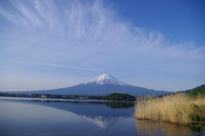 「逆さ富士」の隠れた名所なので、お天気次第では奇跡の一枚が撮れるかもしれません。