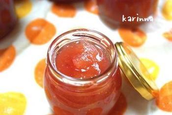 ◆いちじくジャム  材料を入れて、圧をかけるだけの簡単レシピ。手作りジャムは、甘さも自分好みに調節できるのが魅力です。