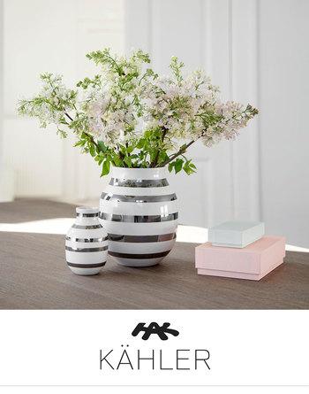 春の花に映える、透明感が素敵♪北欧ブランド「ケーラー」から『オマジオグラス』が新登場