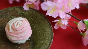 お店で並ぶ上生菓子も、季節を感じる春のものが登場してきました。ひとつ、ひとつ、物語を感じるお菓子たち。お店でお菓子を選ぶ瞬間も、ウキウキ楽しいひとときです。
