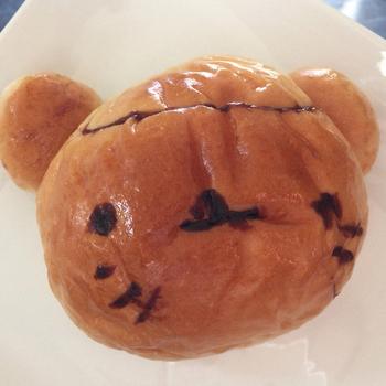 ゆる~とした表情がたまらない、動物パンは子どもに人気♪