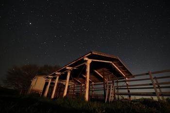 """《ひろのまきば天文台》がある場所は、環境省主催の冬期星空継続観察で、""""日本一星空が見やすい場所""""に選ばれたことがあります。"""