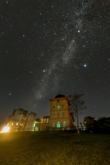 《西はりま天文台公園》の満天の星空。