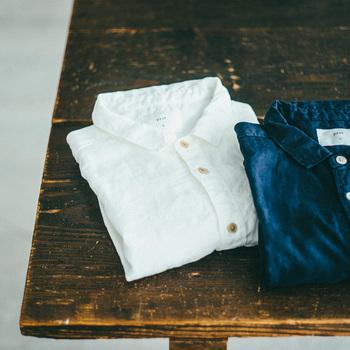 着る人を引き立てるシンプルなデザイン 【prit(プリット)】の服と小物