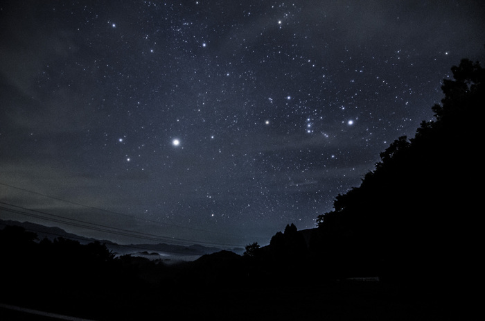 《五ヶ瀬》は、国内有数の最高の星見スポットとして名高い。