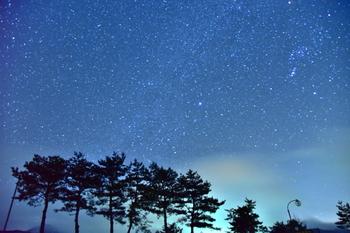 降るような星空とは、こんなことを指すのでしょう。
