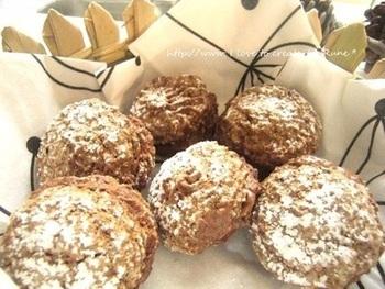 マカロンを作るのはなかなか難しいけれど、このレシピなら成功できるかも!チョコクリームとオートミールのふわとろ食感を楽しんで。