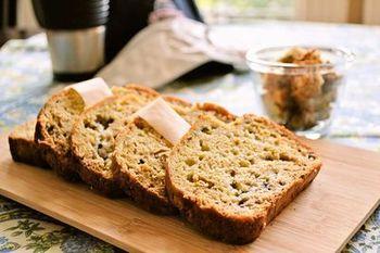 アップルソースやバナナに加えて味がしっかりついているグラノーラを混ぜるので、バターやオイルを使わなくても風味豊かな仕上がりに。