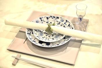 もうひとつ、食べ終わった後のナプキンですが、きれいにたたんで置くと、おいしくなかったというサインになってしまうのだとか。くしゃっとテーブルに置けばいいそうですよ。