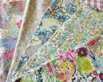 布自体はなかなかいいお値段ではあるもののやはりその人気は高く、ハンドメイドに使う人も多数。ハギレを上手に使って素敵な小物を作るのもオススメです。