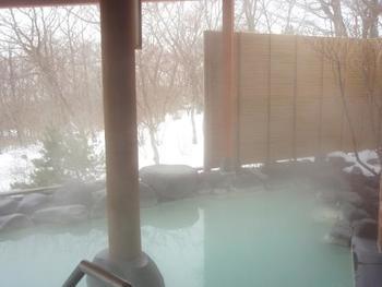 雪景色と関東平野を眺めれば、優雅な気持ちになれそうです。