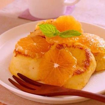 みかんの果汁を使ったフルーティーなレシピがこちら。みかんが沢山ある時に是非!