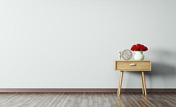 お部屋にモノがあるだけでゴチャゴチャ感が出てしまっていませんか?そんなときは思い切って片付けてしまいましょう! 置くものは最小限。すっきり見えなく収納してしまえば、 清潔感いっぱいの洗練された空間が見えてきますよ!