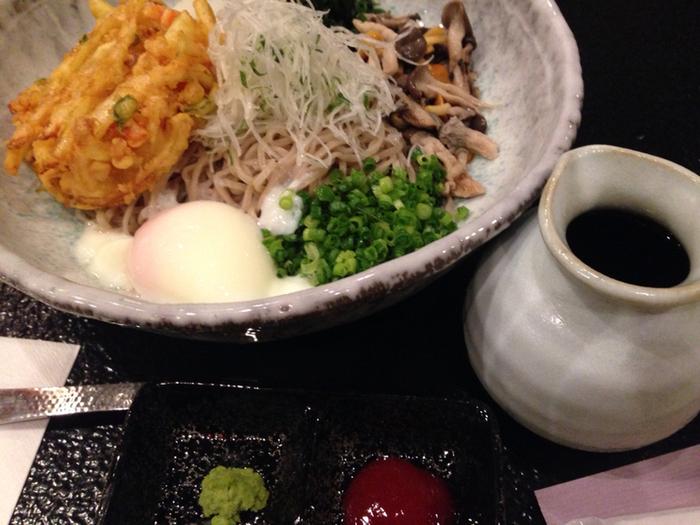 信州そばも捨てがたい! 朝からおいしい和食をいただくと、日本人としてしあわせを感じます。