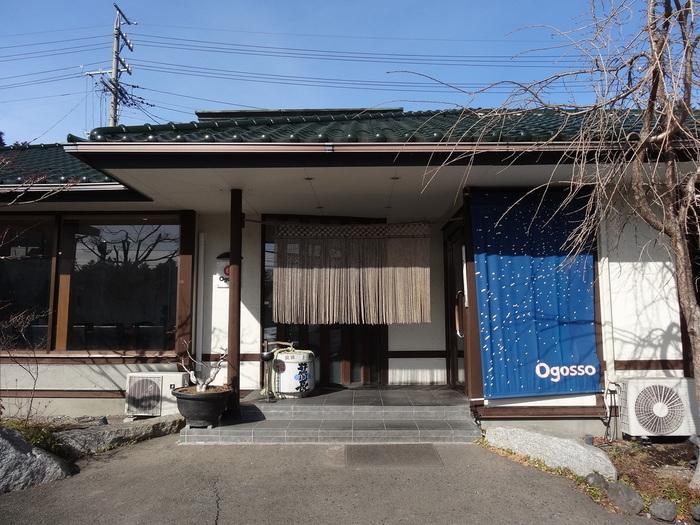 おごっそうとは、長野の方言で「ごちそう」という意味。地元民や別荘族も訪れる人気の和食処です。営業時間は11:30からなので、ブランチに訪れましょう。