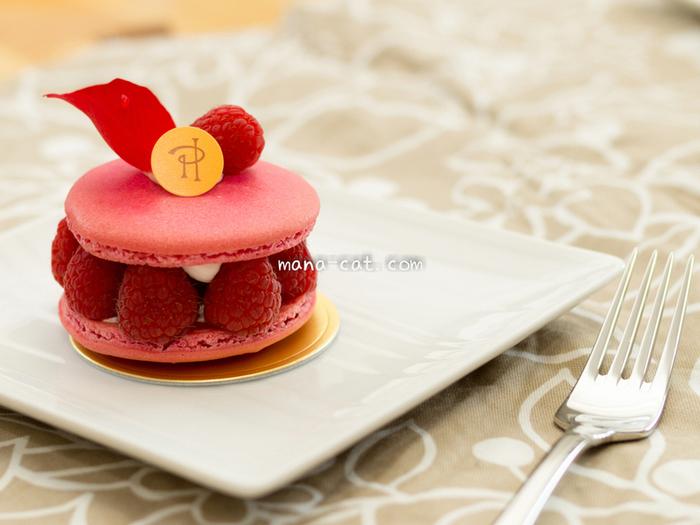 美味しそうだけど、かわいすぎて食べられない~♪  スウィーツ仕立てのケーキのようなマカロンなど・・・・