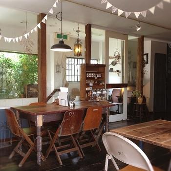 古い街並みが残る一方で、おしゃれなカフェが多いのも川越の特徴。こちらの「Lightning Cafe」では酵素玄米を使ったメニューがいただけます。