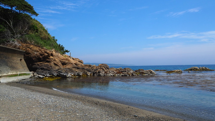 宮城県石巻市に属する「田代島」 ひょっこりひょうたん島のモデルとも言われています。